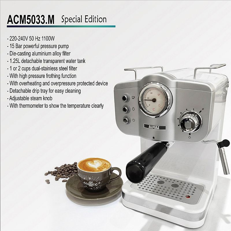 ALMAZ Coffee Maker ACM5033.M Special Edition