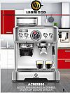 LeoRicco Profesional Coffee Maker Built In Grinder ACM5800
